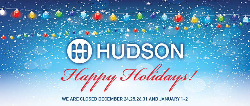 Happy Holidays from Hudson Supplies