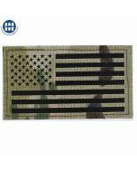 Large USA Flag die-cut Multicam