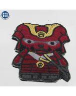 Kuma Korps - Aka Samurai - Morale Patch - Full Color