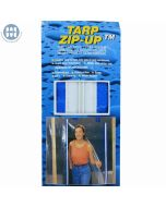 TARP ZIPUP 7' Peel   Stick Zipper 1-PC