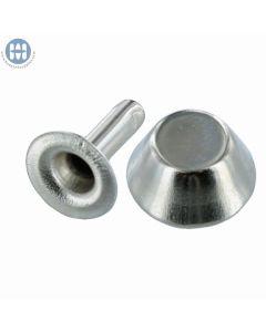 TC036-12 Speedy  Rivet Decorative Stud Cap Nickel