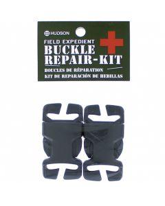 "2pc Repair Buckle 1"" Fem & Male SB Black"