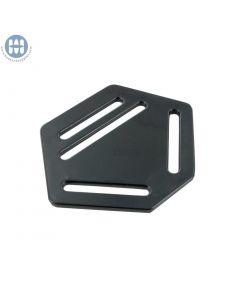 Basic Strap/Suspender Divider 31mmx45mm Black