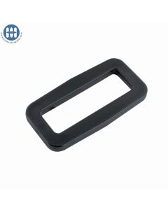 """Basic Wide Mouth Looploc 1.5"""" Black"""