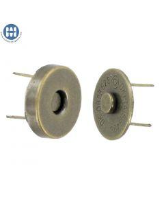 """Magnetic Snap 1/2"""" (CM-142) Antique"""