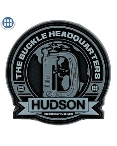 The Buckle Headquarter Patch featuring ITW Grimloc Black