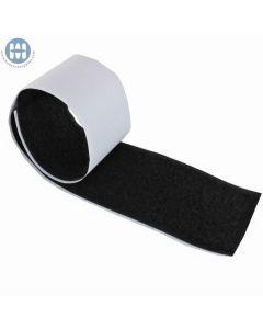 Adhesive Back Loop 3/4in Wide 27 Yards-Black