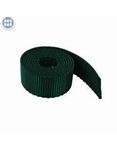 "Nylon Webbing Heavy 1"" (25mm) 422 Green (By The Yard)"