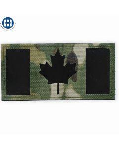 Canadian Flag Velcro Large Multicam