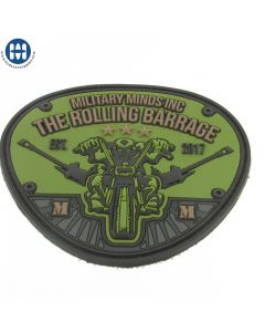The Rolling Barrage 2017 PVC Patch