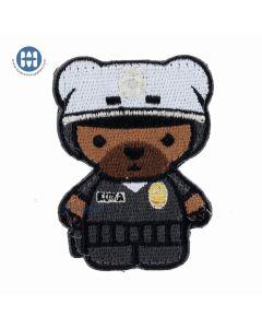 Kuma Korps Police Bear Morale Patch