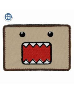 Popular anime character Domokun morale patch