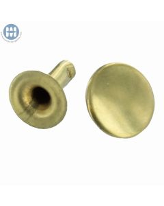 036-10 - Speedy Rivet Brass 10mm (2pcs)