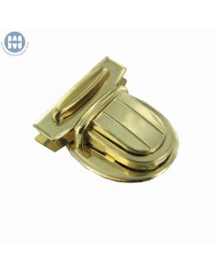 Amiet 2566 Tuck Lock Brass