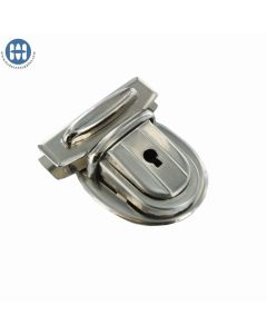 Amiet 2660 Tuck Lock with key Nickel