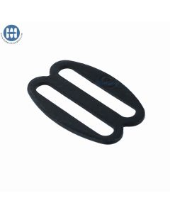 """ITW Rounded Oval Slider 1"""" 08090-22 Black"""