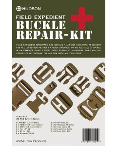 NEW! Field Expedient Buckle Repair Kit Coyote Brown 30 pcs