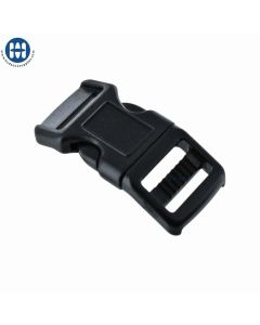 "Basic Curved Plastic Buckle for 5/8"" Straps"