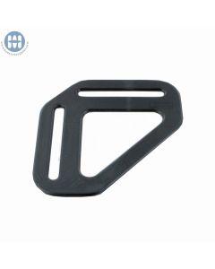 """Basic Suspender Divider 1.5"""" Black"""