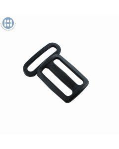 Basic Sternum triglide 1 x 1 Inch Black Front