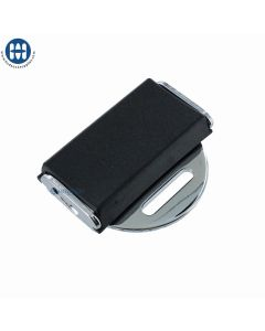 "Seat Belt Buckle 2"" (50mm) with 1"" Loop Black"