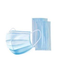Disposable Surgical 3-Ply FAce Mask Blue - 10 PK
