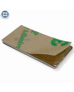"""Block 3/8"""" x 1"""" x 1/8"""" Neodymium Magnet (Adhesive)"""